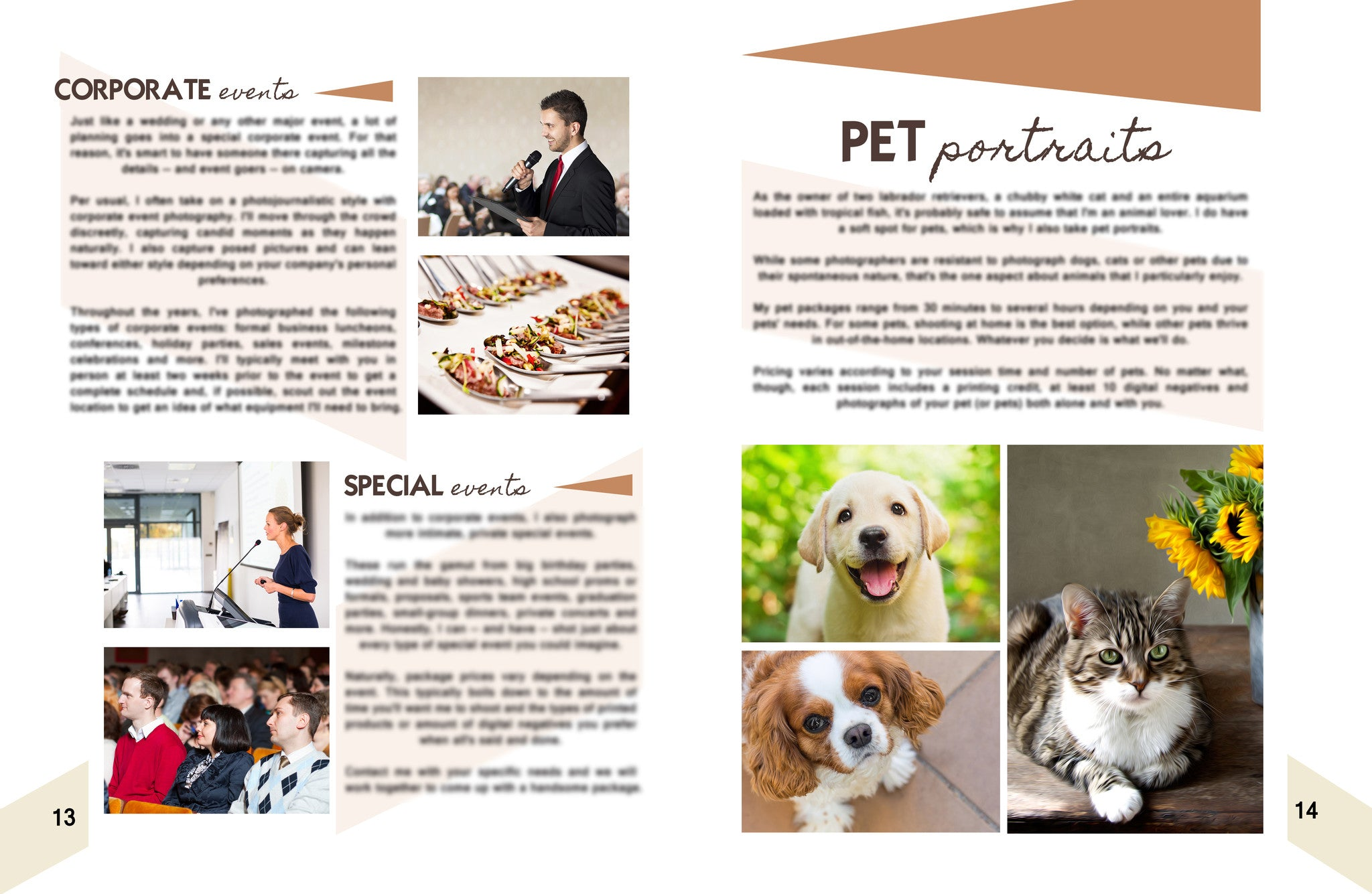 Magazine-style welcome packet template | BP4U Guides