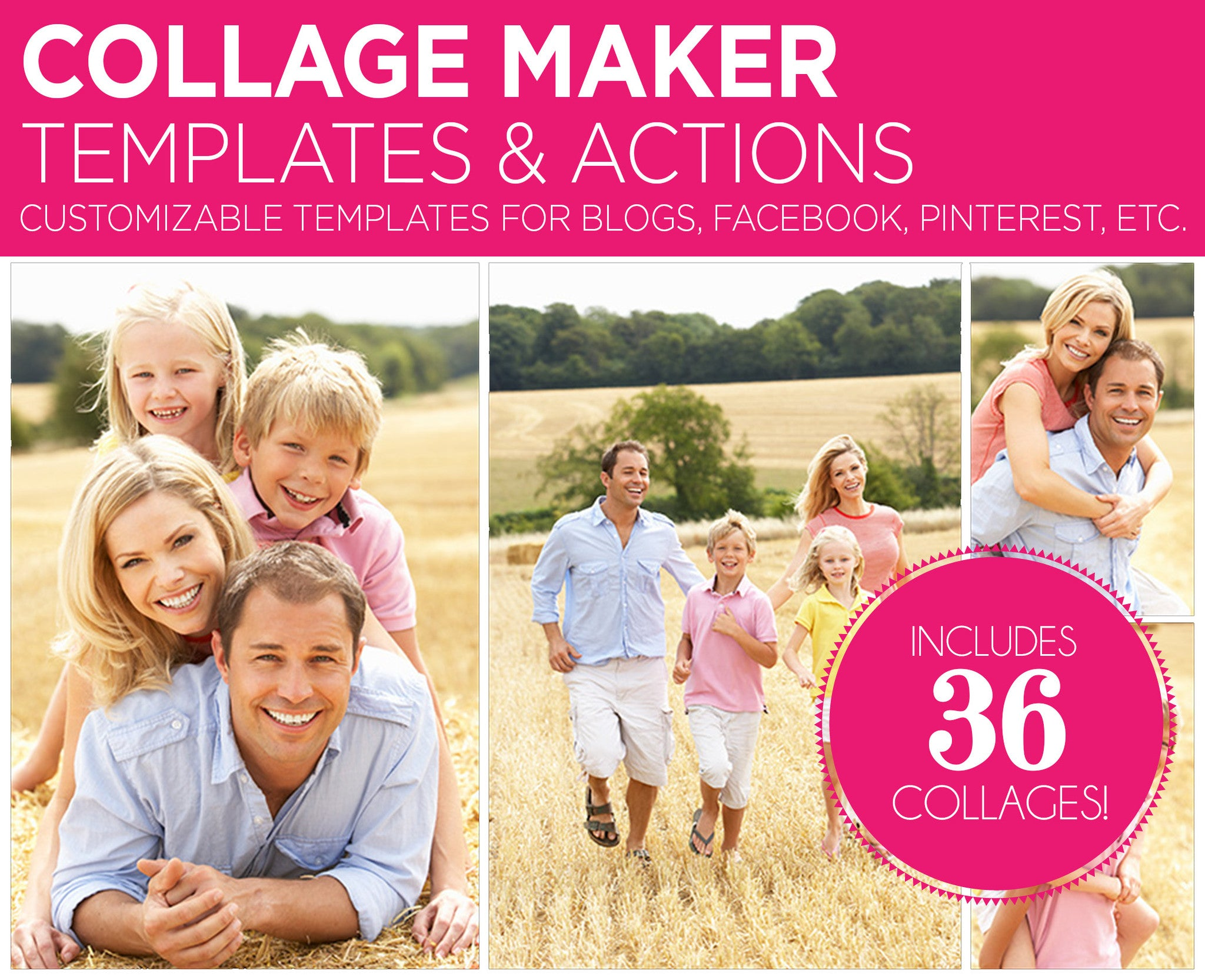 Collage Maker Templates & Actions - BP4U Guides