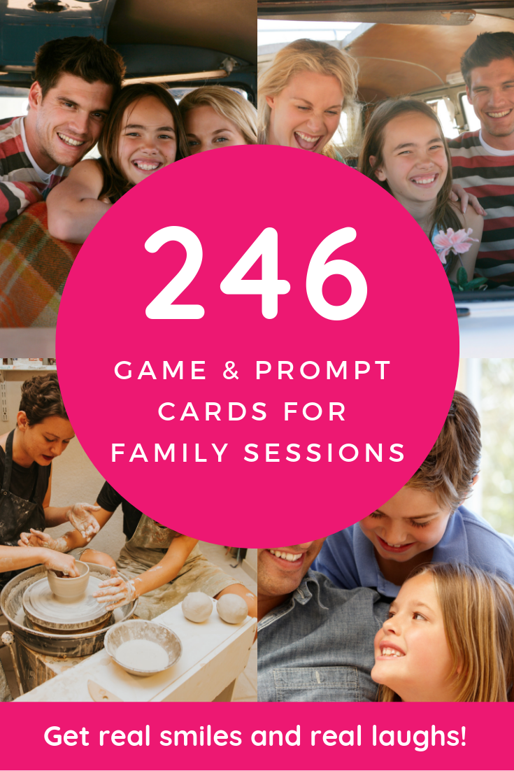 *BRAND NEW* 246 Interactive Game & Prompts for Family Sessions