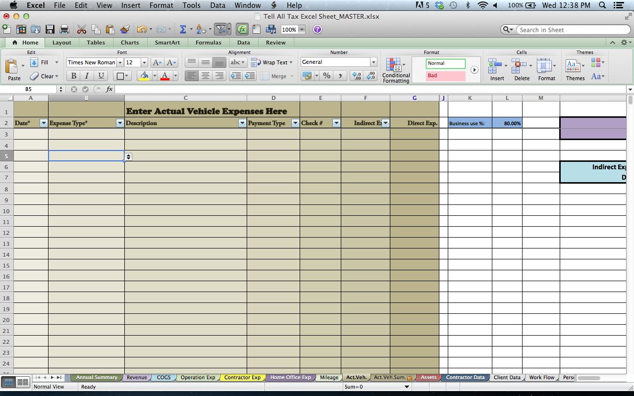 tax spreadsheets for photographers bp4u guides
