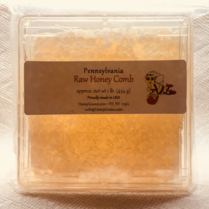 raw honeycomb