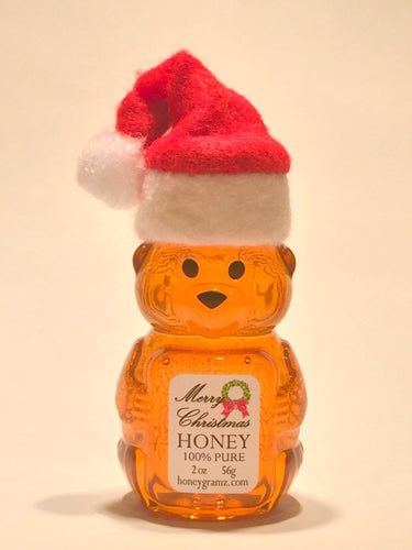 Merry Christmas Honey - Santa Bears with hats