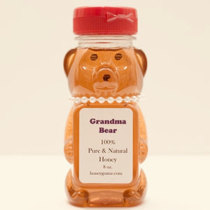 Grandma Bear New York State Wildflower Honey