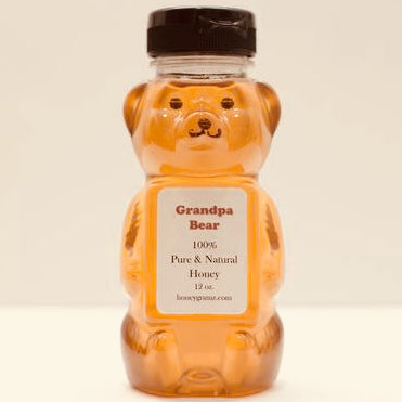 Grandpa Bear Wildflower Honey
