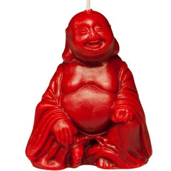 Laughing Budha Beeswax Candle Red HoneyGramz