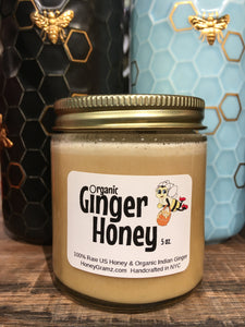 Organic ginger honey