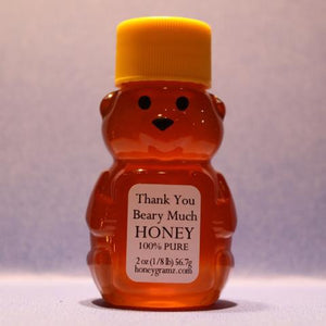 HoneyGramz Thank You Beary Much 100% Pure Raw Honey