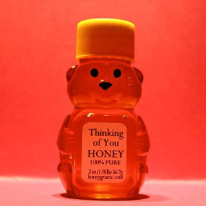 HoneyGramz Thinking of You Honey 100% Pure Raw Honey