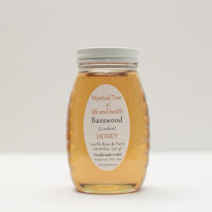 Basswood / Linden Honey - Pure Raw Honey HoneyGramz