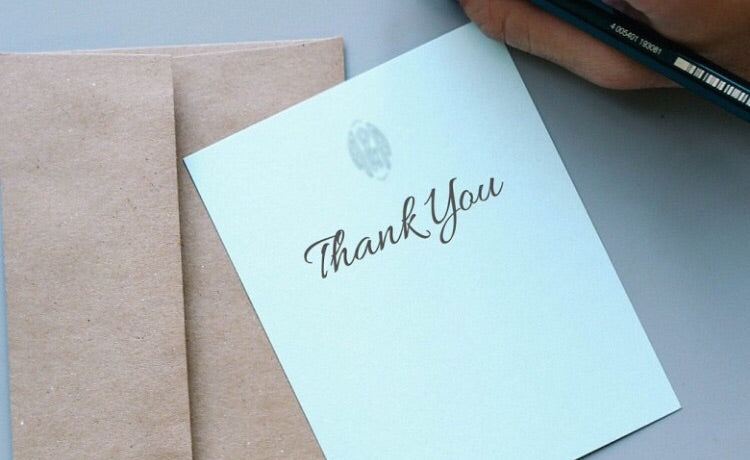 Handwritten Note Card