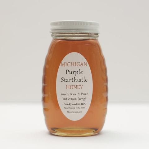 Michigan Purple Starthistle Honey
