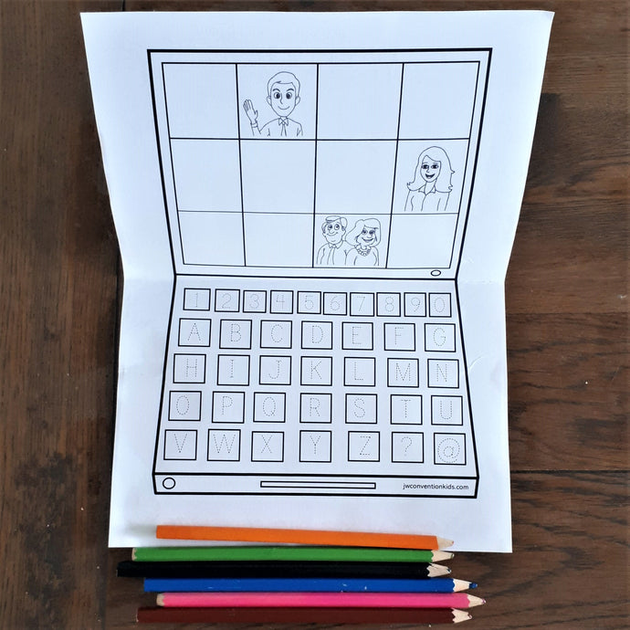 New Free Zoom Worksheets!