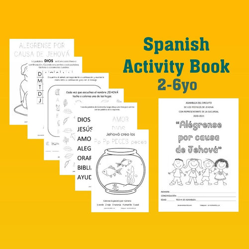 PDF SPANISH 2-6yo Rejoice in Jehovah JW Circuit Assembly with Branch Rep