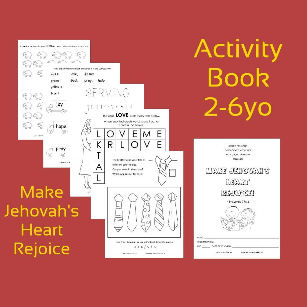 2-6yo Make Jehovah's Heart Rejoice 2020/2021 Circuit Assembly with CO PDF