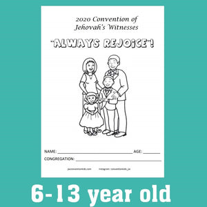 "6-13yo ""Always Rejoyce"" 2020 Convention Notebook PDF"