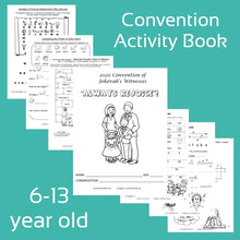 "Load image into Gallery viewer, 6-13yo ""Always Rejoyce"" 2020 Convention Notebook PDF"