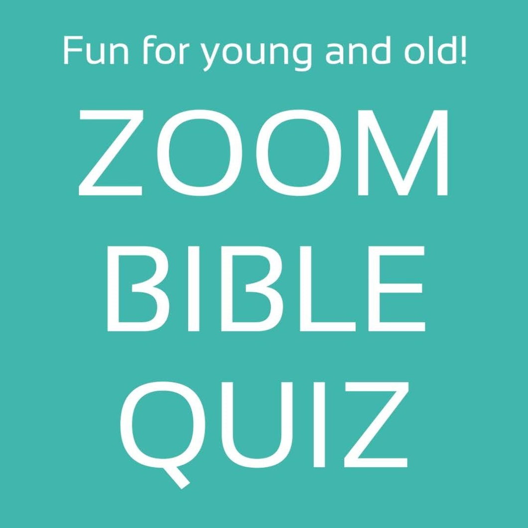 FREE Zoom Bible Quiz
