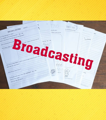 JW Broadcasting Worksheets for Families PDf