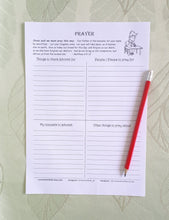 Load image into Gallery viewer, Prayer sheets for JW Families PDF