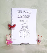 Load image into Gallery viewer, 2-6yo My Own Meeting Book  PDF