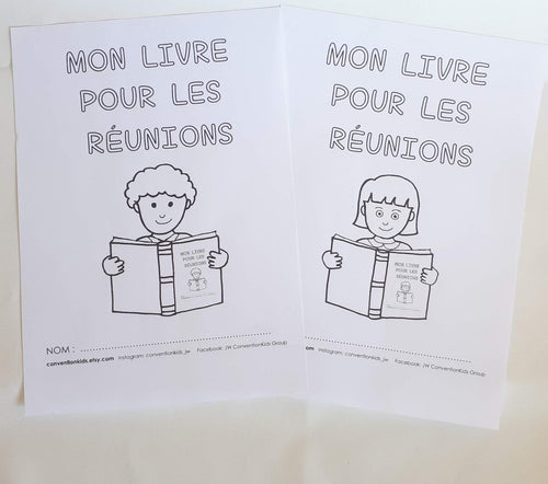 FRENCH 2-6yo My Own Meeting Book for Kids PDF