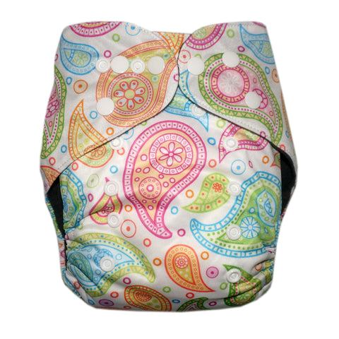 Gen2 - Perfectly Paisley Cloth Diaper