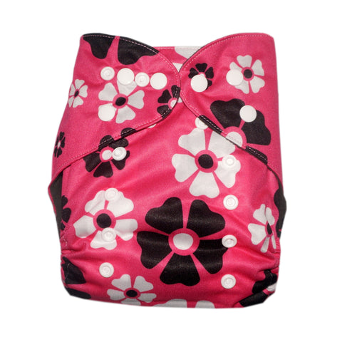 Gen2 - Pink Lei Cloth Diaper