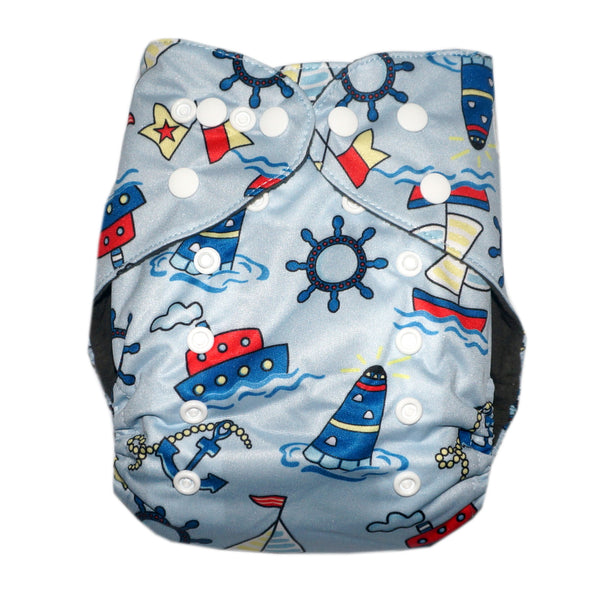 Gen2 - Ships Ahoy! Cloth Diaper
