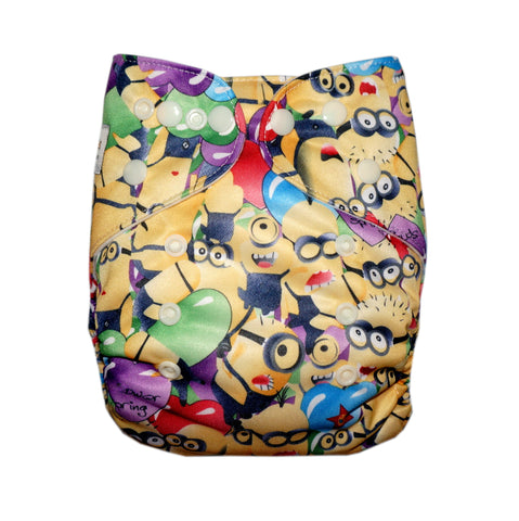 Classic - Many Minions Cloth Diaper