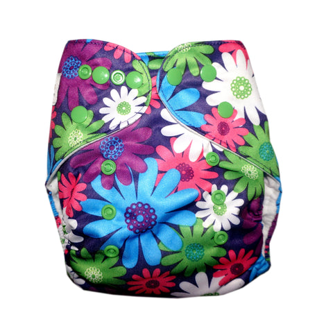 Classic - Crazy Daisies Cloth Diaper