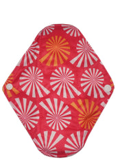 "Sea Shells Reusable Cloth 9"" Menstrual Pad"