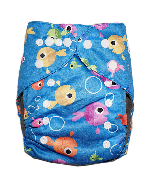 Gen2 - Fantastic Fishies Cloth Diaper