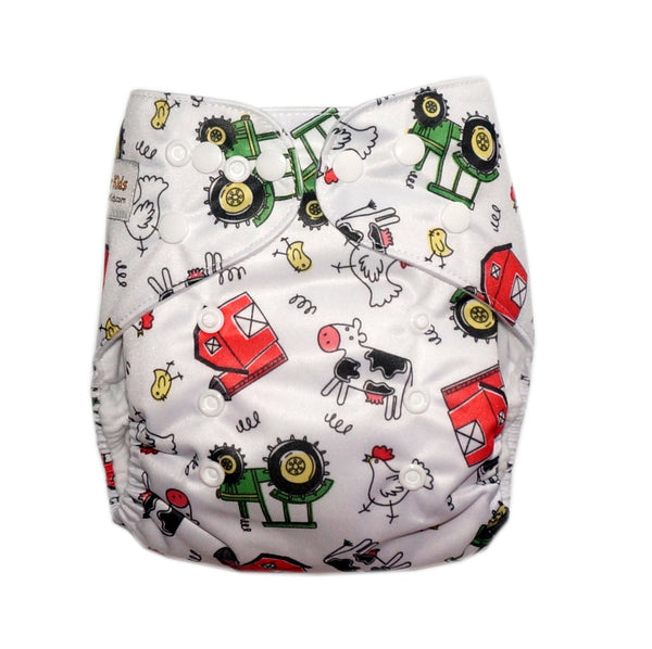 Classic - Farm Fun Cloth Diaper