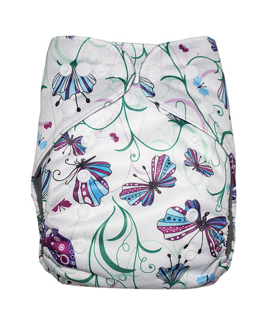 Gen2 - Butterfly Bliss Cloth Diaper
