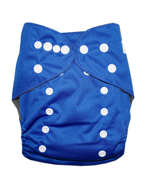 Gen2 - Solid Blue Cloth Diaper