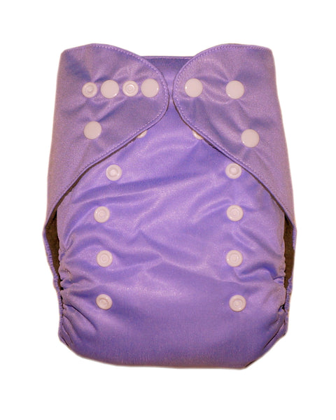 Gen2 - Solid Lavender Cloth Diaper