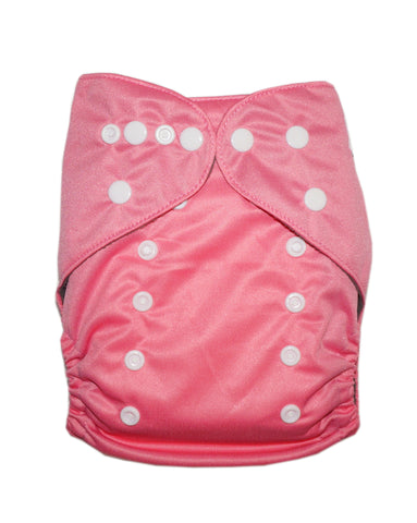 Gen2 - Solid Pink Cloth Diaper