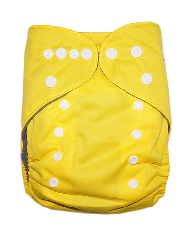 Gen2 - Solid Yellow Cloth Diaper