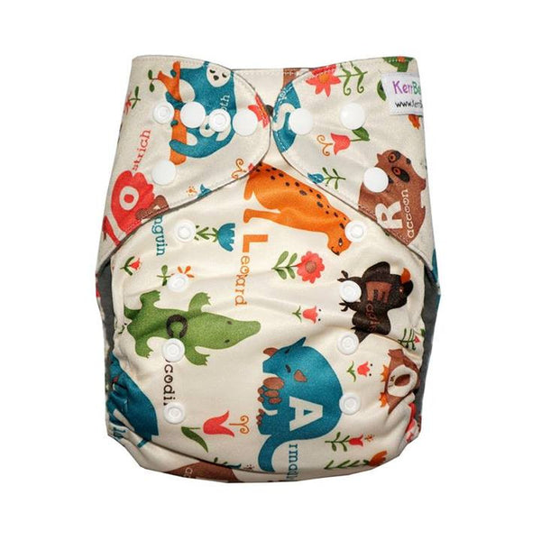Gen2 - Alphabet Animals Cloth Diaper