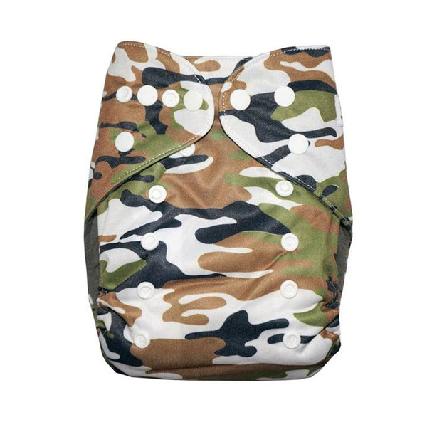 Gen2 - Camouflage Cloth Diaper