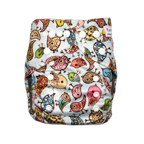 Gen2 - Cool Chicks (Minky) Cloth Diaper