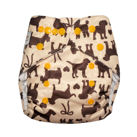 Classic - Puppy Love Cloth Diaper