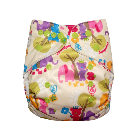 Classic - Savannah Safari Cloth Diaper