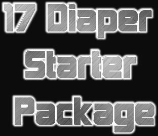 17 Cloth Diaper Starter Package