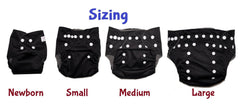 Gen2 - Nautical Navy Cloth Diaper