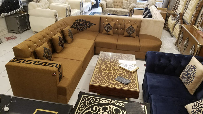 Wasachi Sofa Set with Cushions