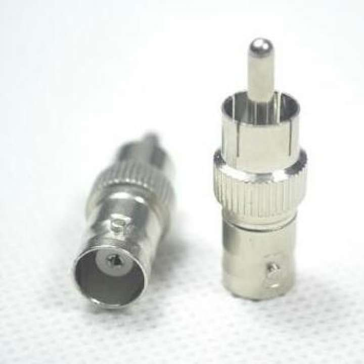 Connector bnc female to av steel Connector