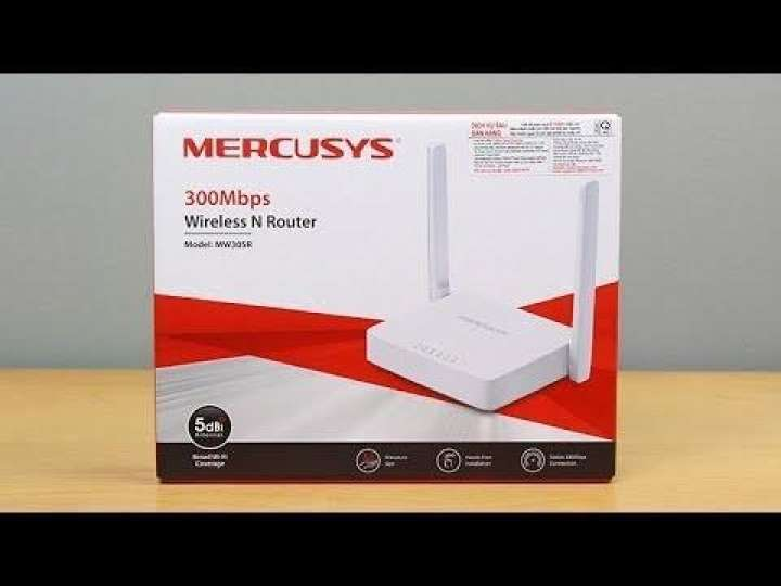 Mercusys Wifi 300Mbps Wireless Router