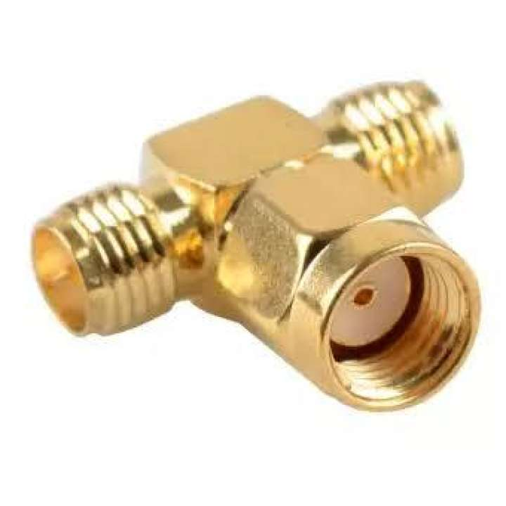 CONECTOR SMA FEMAIL TO MAIL T GOLDEN