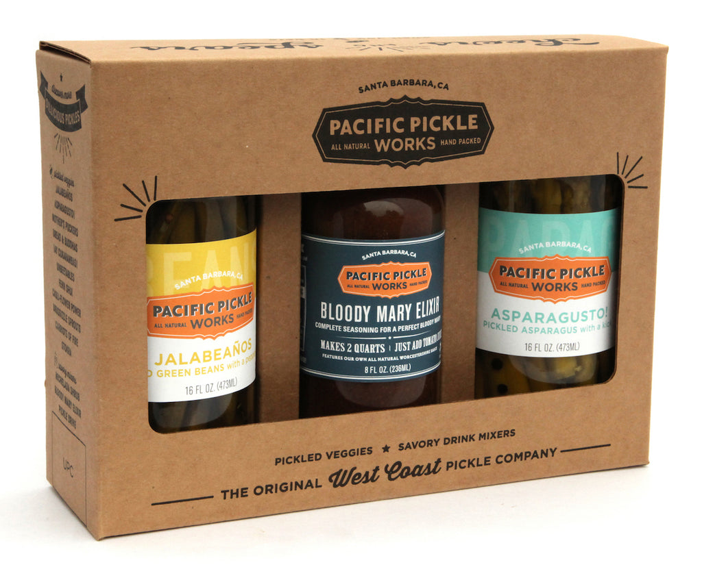 Pacific Pickle Works Launches Non-GMO Cocktail Gift Sets